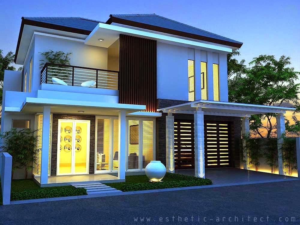 Desain Rumah Minimalis 1 Lantai Type 120 - Gambar Foto ...