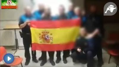 Bandera, España, sabadell, cataluña, independencia, policia local
