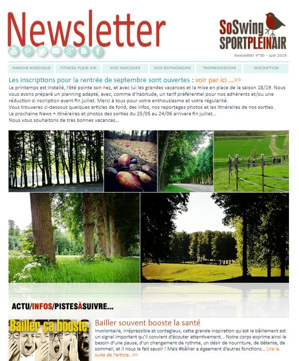 Lire la Newsletter du mois de juin
