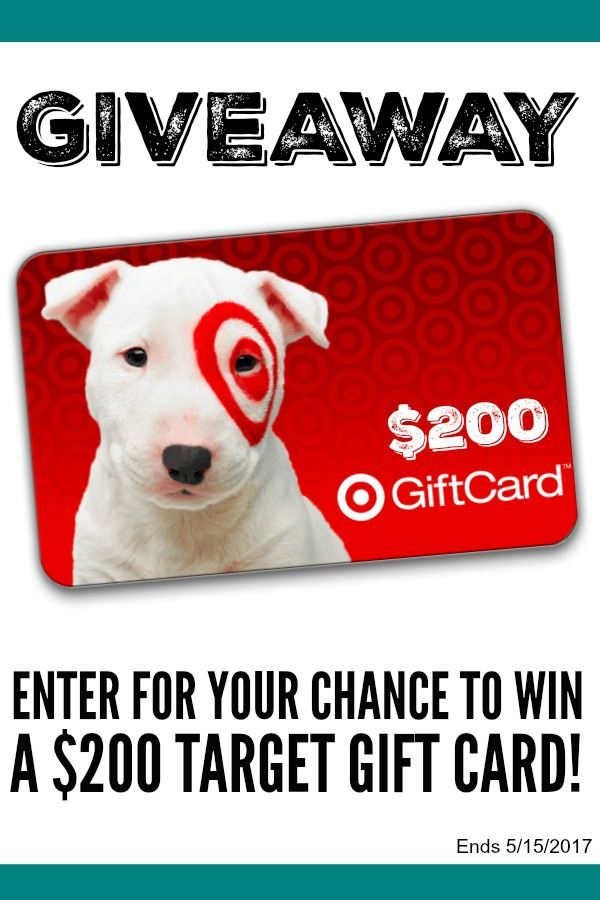 Enter for your chance to win a $200 Target Gift Card giveaway on Walking on Sunshine.