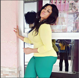 """""""The Only Handsome Guy That Rocks My World"""": Actress Omobutty Poses With Her Son"""