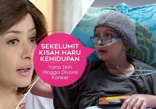 Kisah Haru Yana Zein, Dari Bercerai hingga Mengidap Kanker Stadium 4