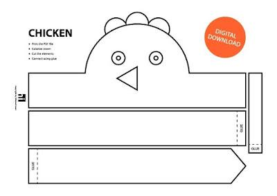 descarga gratis corona máscara de pollo