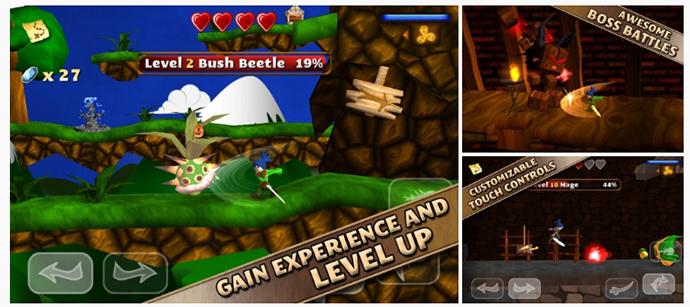Swordigo: Tựa game phiêu lưu kết hợp giải đố hấp dẫn hiện đang miễn phí