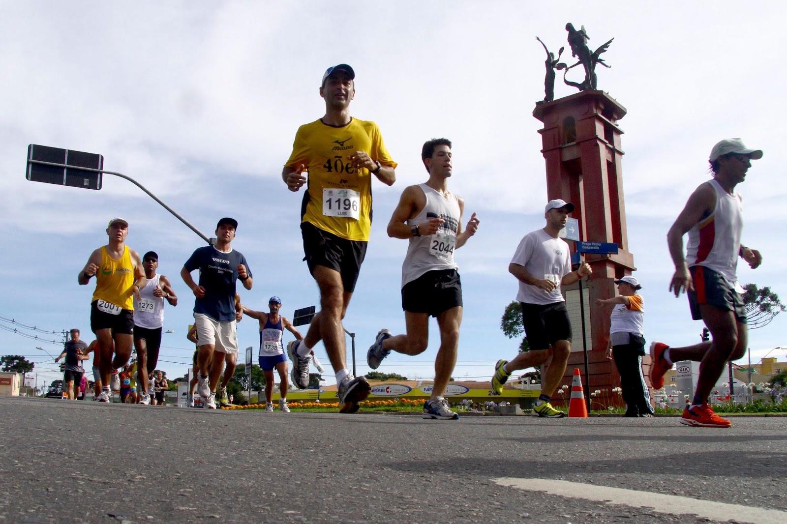 Mais de três mil visitantes participaram de evento de corrida em Curitiba