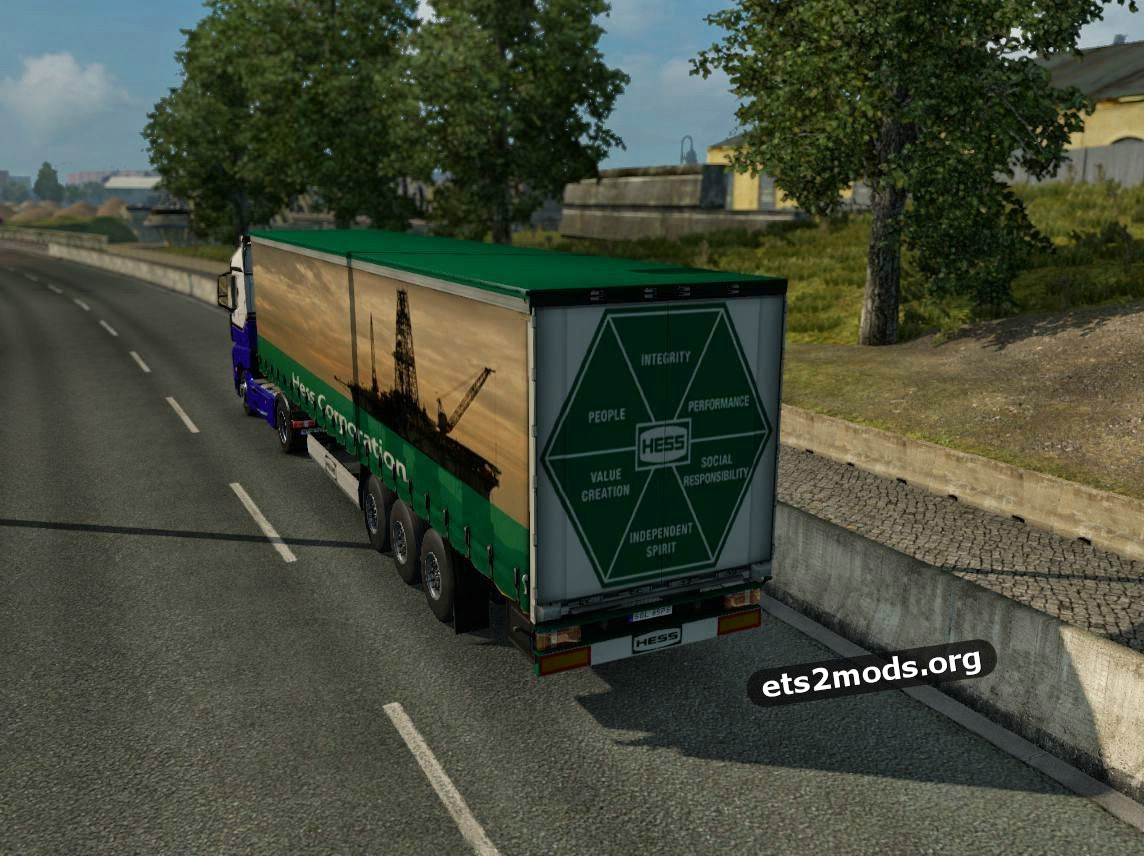 Hess Corporation trailer mod