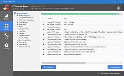 Repair corrupted windows registry