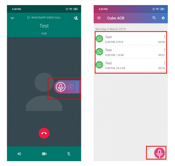 how to record whatsapp call in android free?-