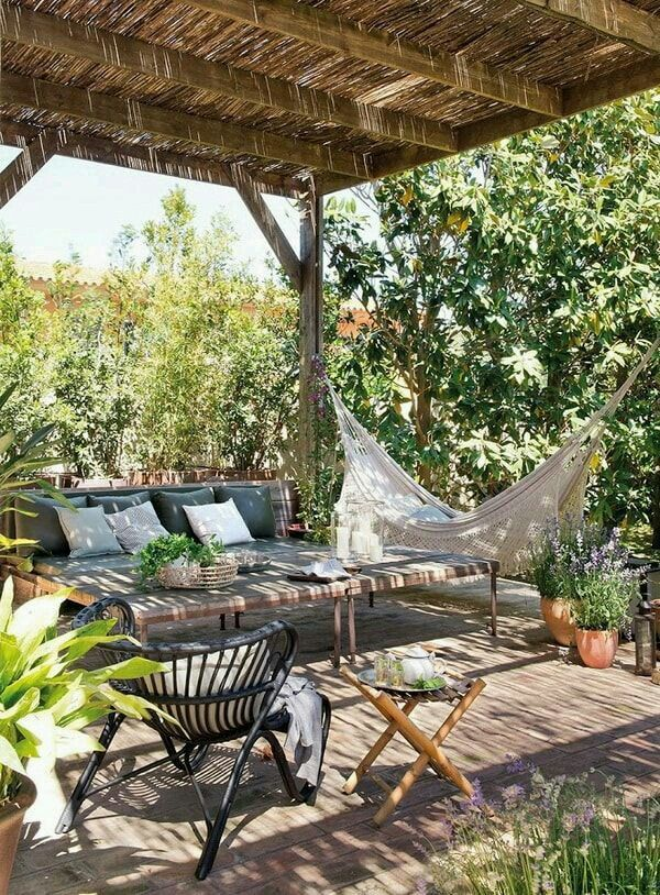 11 Ideas About Boho Chic Terraces - Very Cozy To Enjoy With Your Family 11