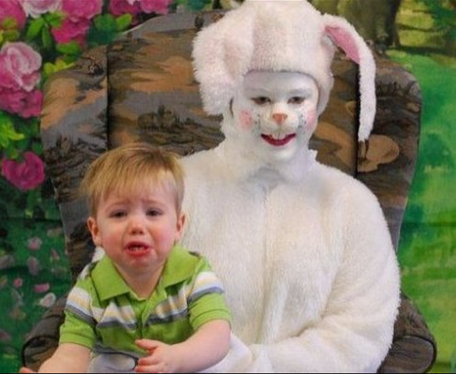 Creepy Easter Bunny Pictures