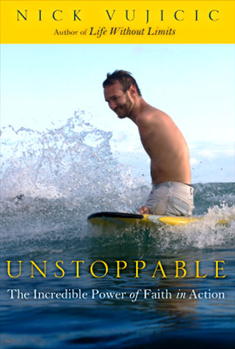 Nick vujicic book Unstoppable