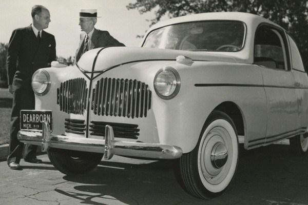 Henry Ford's Soybean Car, 13 August 1941 worldwartwo.filminspector.com