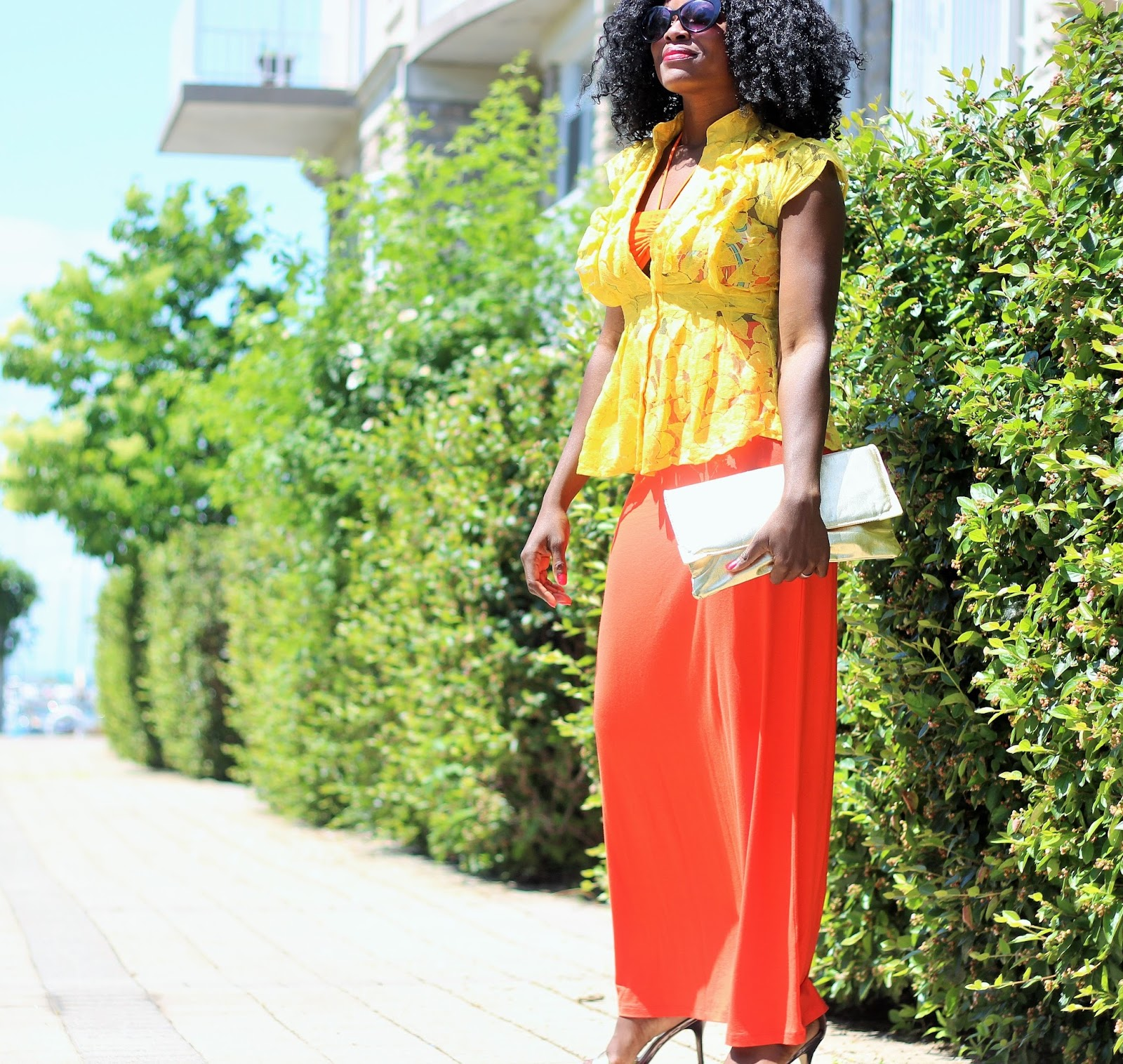 SUMMER LAYERING Bikini Style with Lace Top x Maxi Skirt