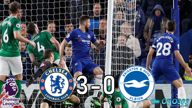 Video Highlights dan Cuplikan Gol Chelsea vs Brighton (4 April 2019)