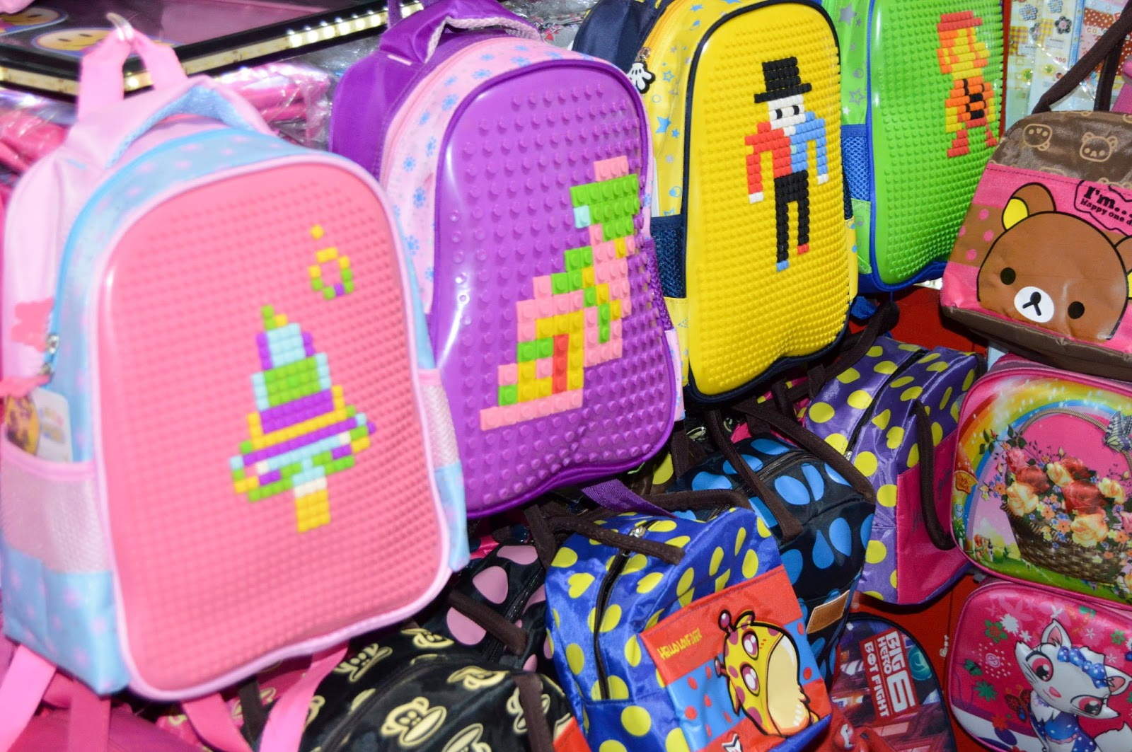 Colorful Baby School Bags - Free Stock Photos - Free Images - Free Wallpapers - Free Photos