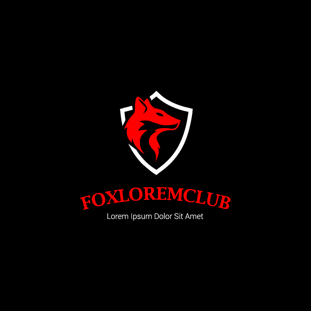 Fox Club Creative Logo Designs For Inspiration Free PSD