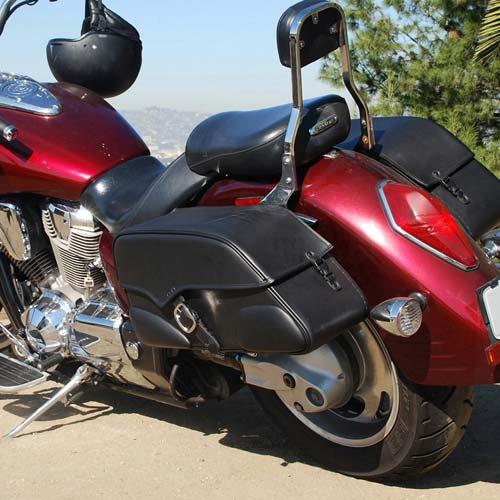 Moto Twist: Honda vtx Motorcycle Saddlebags-The Most Reliable