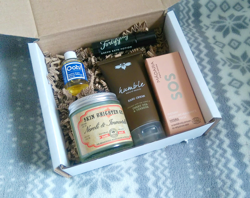 LoveLula Beauty Box, November 2016