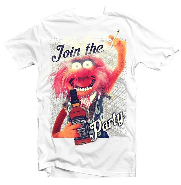 muppets tshirt design