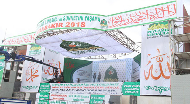 Diyarbakır Mewlid etkinliği hazırlıklarında son aşamaya gelindi