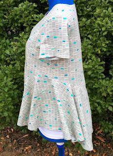 Creates Sew Slow: Janis Sandbar top - side