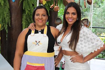Celice e a filha, Tays Reis (Crédito: Gabriel Gabe)