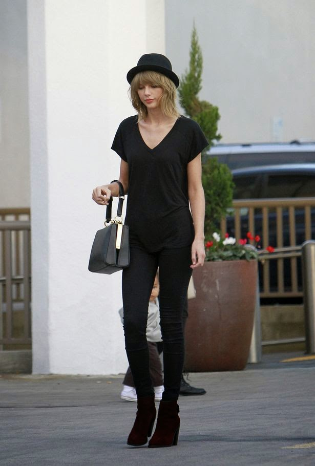 e2e2574d1f2f Shoe Game of the Stars  Rag   Bone Kerr Nubuck Ankle Boot - Taylor Swift