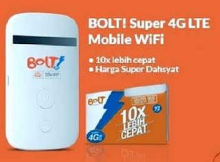 Cara Cek Sisa Pulsa Kuota Bolt 4G di Modem dan Lewat SMS