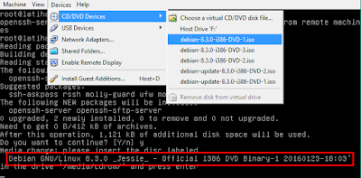 SSH Server ( Remote Access ) dengan Debian 8 Server