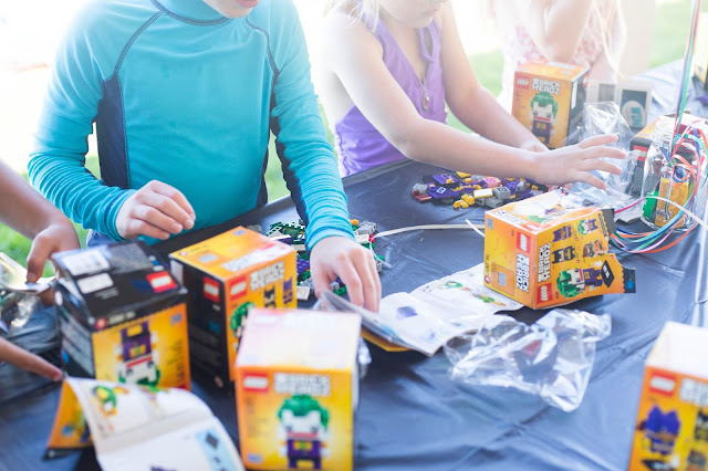 activities to keep kids busy during a lego birthday party.