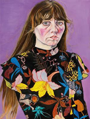 Ishbel Myerscough, Self-Portrait in a Flower Dress (2016