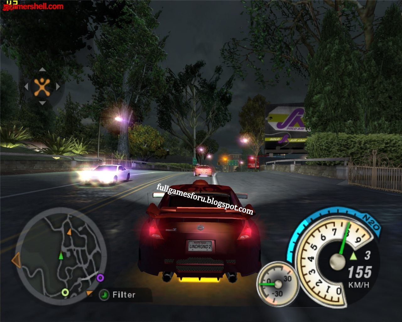 1.33GB Need For Speed Underground 1 Download For PC Full ...