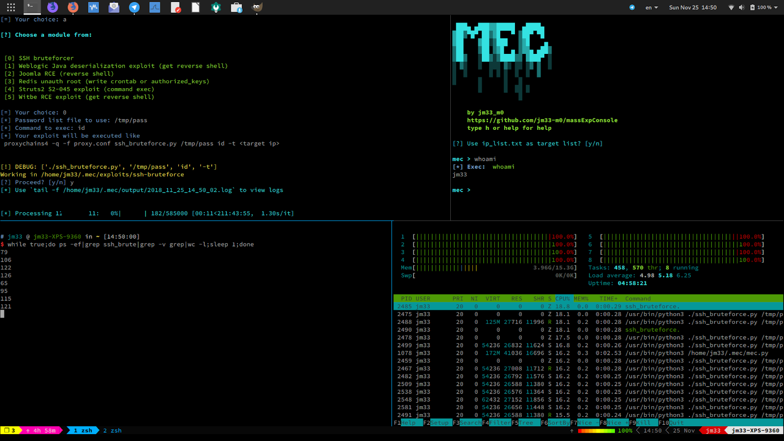 MEC v1 4 0 - Mass Exploit Console