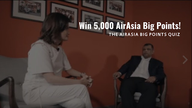 The AirAsia BIG Points Quiz