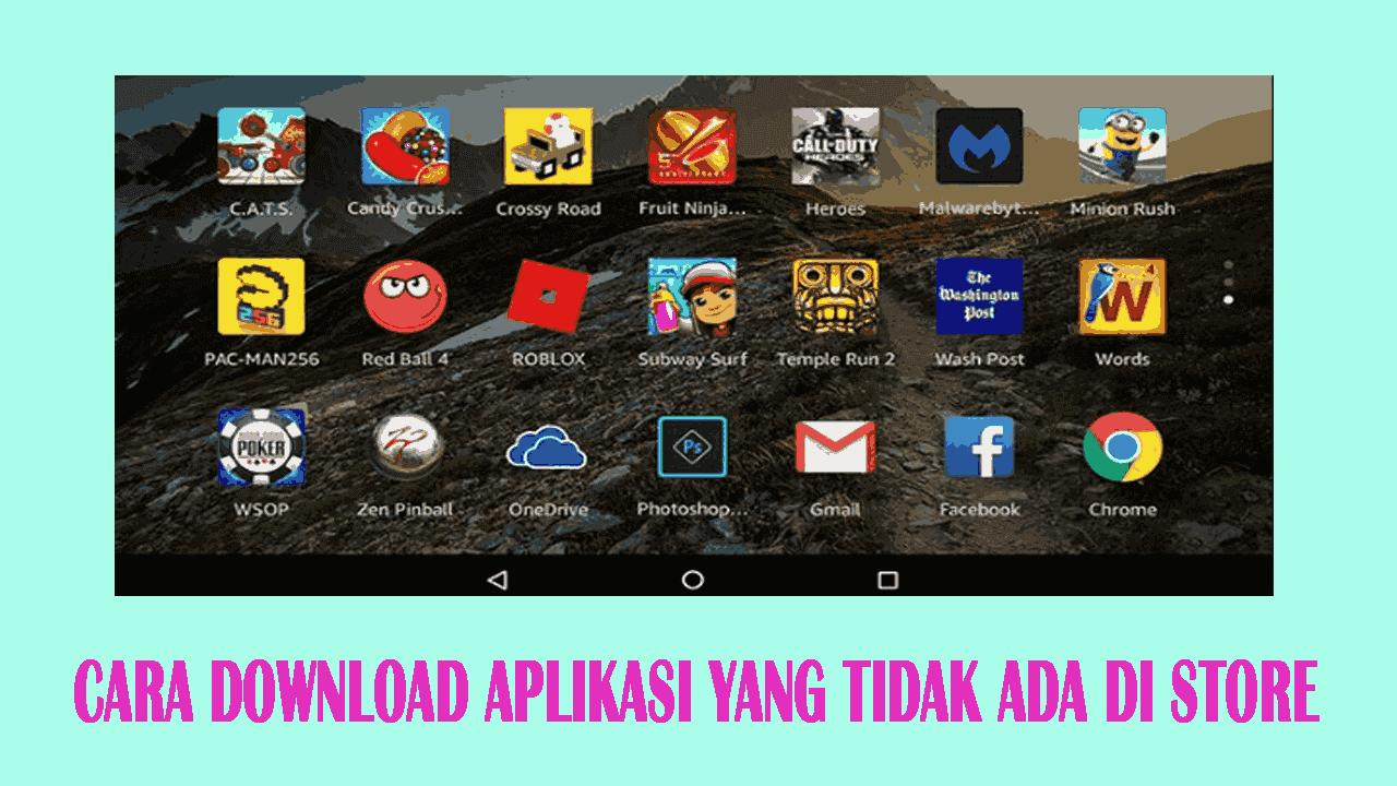 Cara Download Aplikasi Yang Tidak Ada Lagi di App Store Ponsel Anda