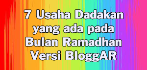 7 Usaha Dadakan yang ada pada Bulan Ramadhan Versi BloggARs