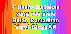 7 Usaha Dadakan pada Bulan Ramadhan Versi BloggARs
