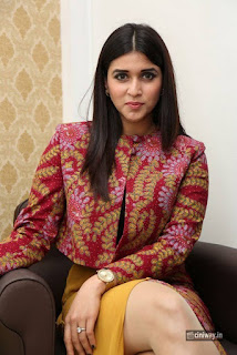 Mannara Chopra Stills at Naturals 500 Salon Celebration
