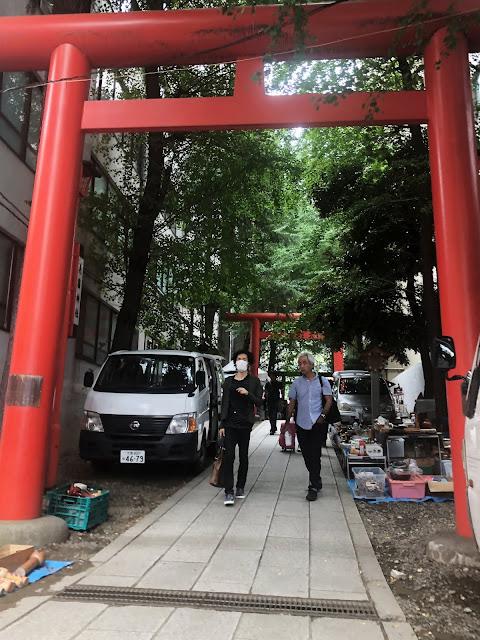 Sanctuaire Hanazono Shinjuku