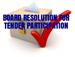 Board-Resolution-Tender-Participation