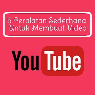 peralatan ngeyoutube