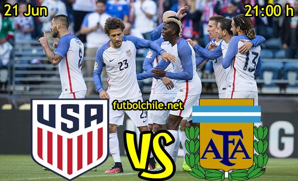 VER STREAM RESULTADO EN VIVO, ONLINE: Estados Unidos vs Argentina
