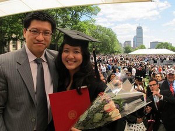 Lê Diệp Kiều Trang và chồng Sony Vũ