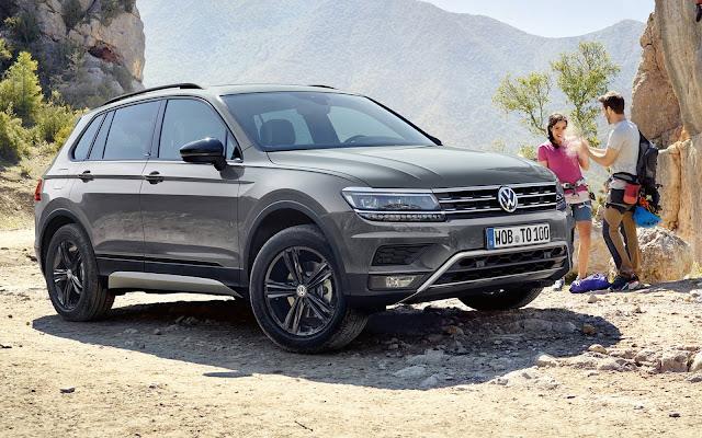 VW Tiguan - 2º carro mais vendido na Alemanha