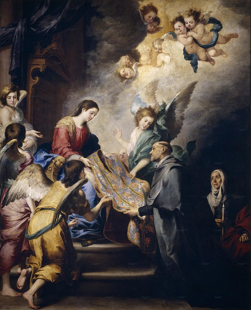 Apparition of the Virgin to St. Ildefonsus, c. 1660