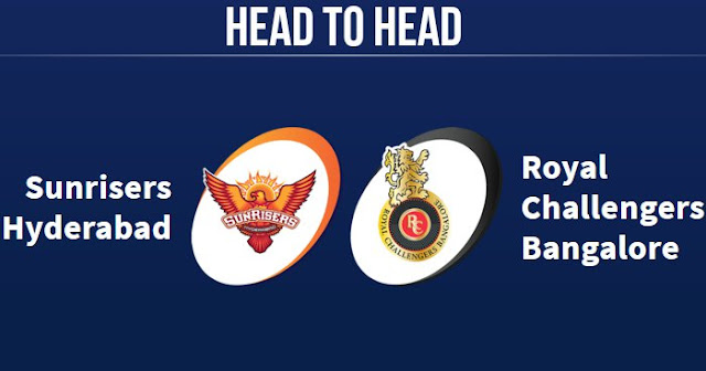 RCB vs SRH Head to Head: SRH vs RCB Head to Head IPL Records: IPL 2019