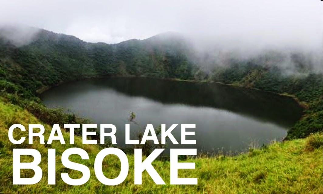 Mount Bisoke Visoke Crater Lake Trek Hike Volcanoes National Park Rwanda Lake Ngezi