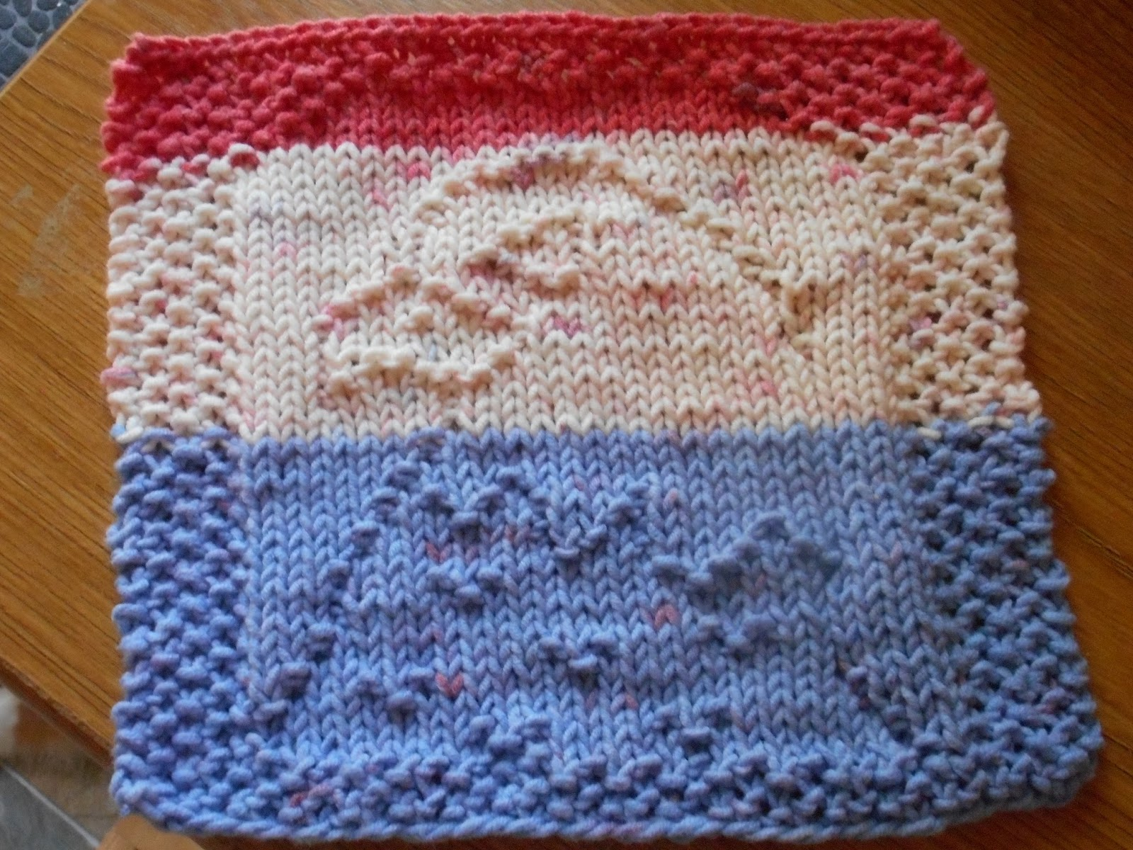 Monthly Dishcloth Overflow: July 1st 2017 KAL