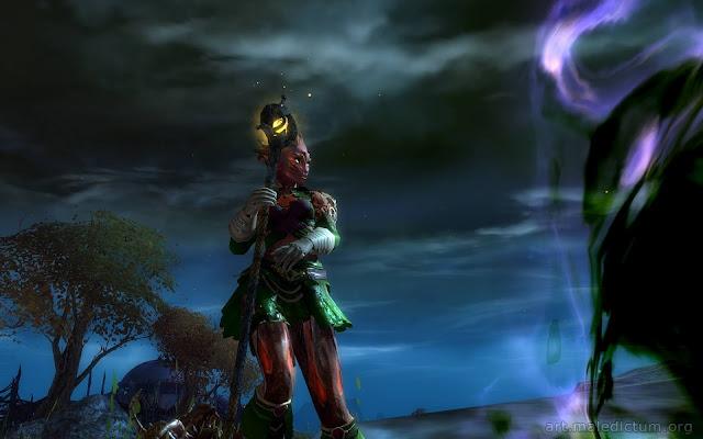 Guild Wars 2 - сильвари представляют вегетативную форму экзистенции