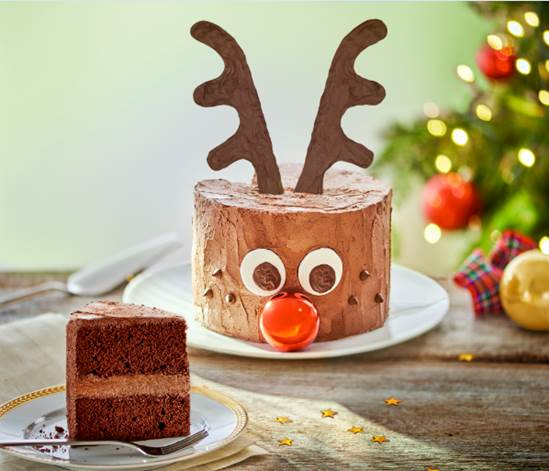 Chocolate Rudolph Cake: A Fun Cake For Christmas Day